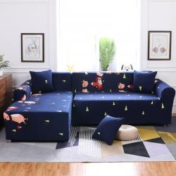布兰鸟家纺 卡通全包沙发套沙发罩沙发巾沙发垫通用音乐晚会