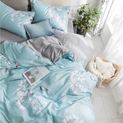 (总)静家居 宜家风-淑女球球款四件套床单款
