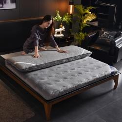 柏图床垫 2018新款法莱绒床垫 灰色