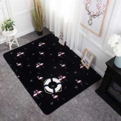 奕晨家居ins潮牌地毯卧室客厅地垫茶几飘窗垫子可定制皇冠火鸟
