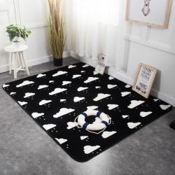奕晨家居ins潮牌地毯卧室加厚北欧客厅地垫茶几飘窗垫子可定制