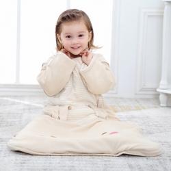 (总)A类天然彩棉老皮匠 秋冬款婴幼儿棉花宝宝儿童睡袋防踢被