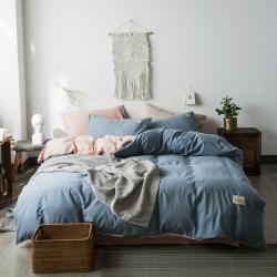 (总)贝拉梦 2019新款北欧水洗棉四件套床单款
