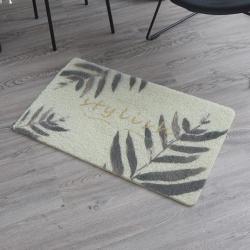 蔓小棉 丝圈地垫进门蹭蹭垫 黍叶葵