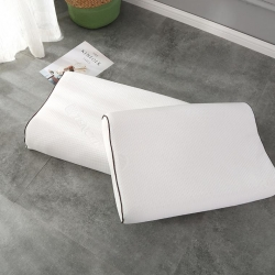 茏迈 仿天丝乳胶枕