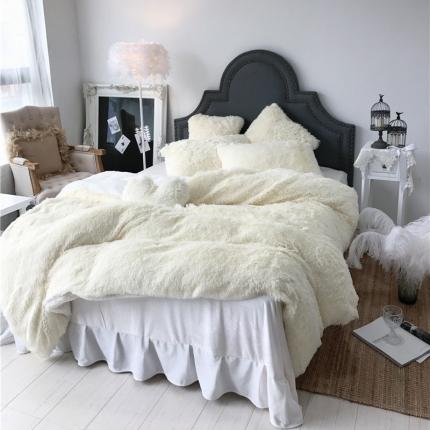 (总)桔子家纺 水貂绒四件套床笠款手机实拍图