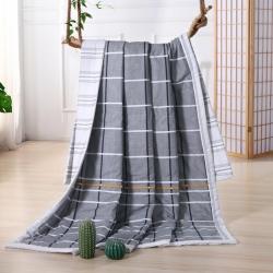 (总)慕莎  2019新款全棉空调被夏凉被AB版纯棉夏被被芯