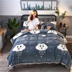(总)海雷毯业 2018全专版 全宽幅法莱绒毯 毛毯