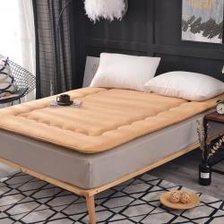 恩贝尔床垫 2018新款 羊羔绒床垫 驼色