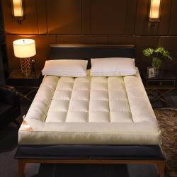 小胖妞 羽绒丝立体床垫 黄色