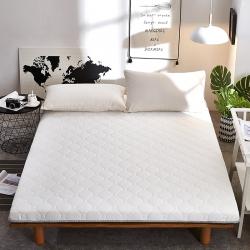 寐珂家纺 2018针织3D双面床垫10厘米灰白