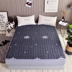 温语家纺 2018新款印花床垫床褥床护垫皇冠
