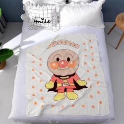 吖噢 全棉纱布四层加厚60支童被 婴童浴巾115*140