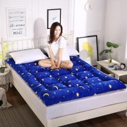 富百世 加厚床垫床褥床双人褥子学生宿舍海绵床垫垫被 星月