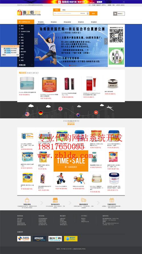 日本淘宝代购系统,淘宝代购网站建设