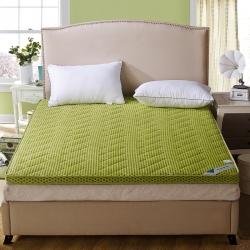 4D透气榻榻米加厚床垫子床褥垫被可折叠单双人1.5/1.8米