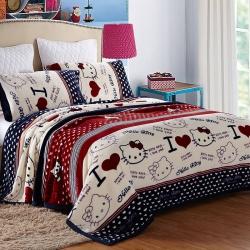绒品之家550克玉兔绒毛毯