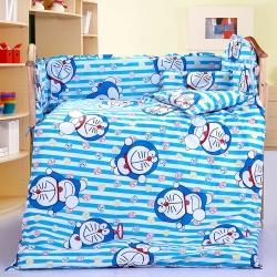 铭轩家纺 婴童幼儿园三件套秋冬童被床垫被套