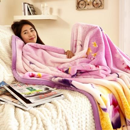绒品之家550克玉兔绒毛毯(总)