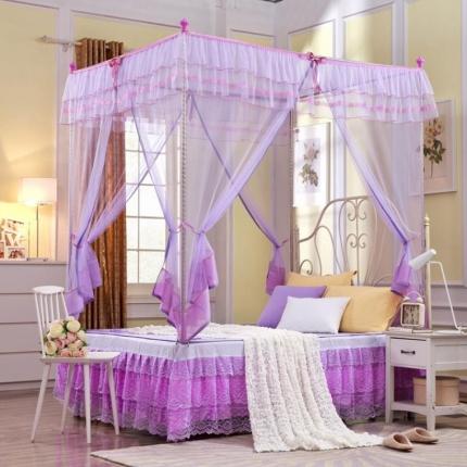 天依舍 拉链蚊帐系列C-20 紫色