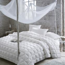 富乐屋家纺 保暖舒适安德里亚羽绒被纯白