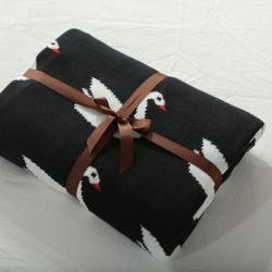 (总)来菲家纺夏季外贸沙发线毯盖毯INS爆款儿童纯棉针织毛毯
