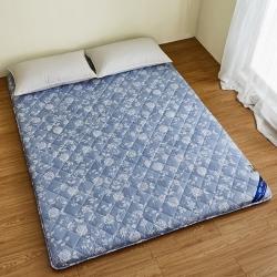 (总)锦丝钰床垫 日系磨毛竹炭加厚床垫