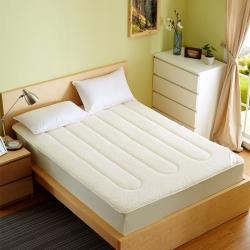 (总)锦丝钰床垫 环保透气羊羔绒床笠式床垫
