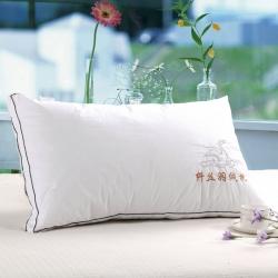 羽丝绒枕柔软枕舒适枕特惠枕单人枕全棉枕枕芯
