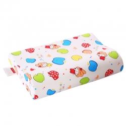 沃兰国际 泰国进口天然乳胶枕芯婴童曲线枕头(送内外套 六色)