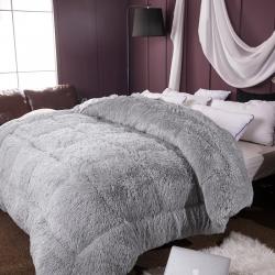 (总)情书家纺 加厚保暖毛绒冬被被芯被褥