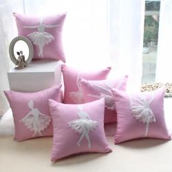 (总图)中式手工创意抱枕靠垫贴布绣办公室汽车卧室装饰靠枕腰枕