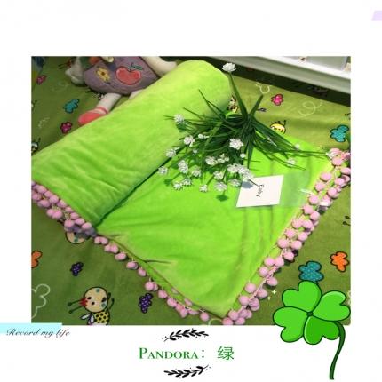 纯优家纺 Pandora潘多拉魔法毯子(单被套)果绿