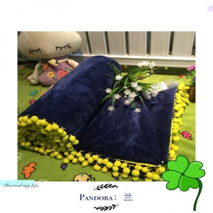 纯优家纺 Pandora潘多拉魔法毯子(单被套)藏兰