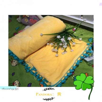 纯优家纺 Pandora潘多拉魔法毯子(单被套)黄色