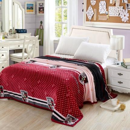 (总)小时代家纺 260克金貂绒毯