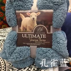 (总)卜古家纺 ULTIMATE顶级羊羔绒毛毯升级版