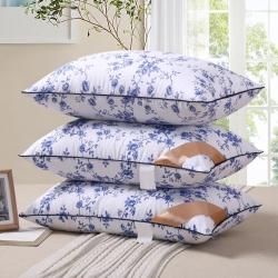 (总)艾尚家居 珠光浆纤维棉枕头
