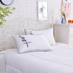 瑞莉安枕芯 玫瑰羽丝绒枕