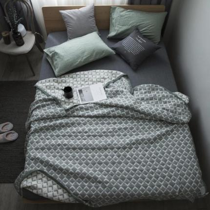 (总)纯品家居 多层大提花盖毯毛毯