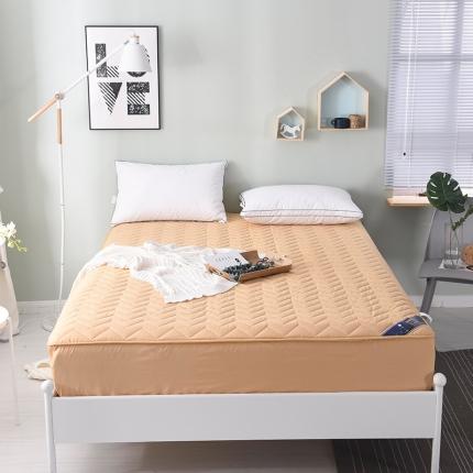 13372全棉夹棉透气床笠床垫套席梦思保护套单人/双人