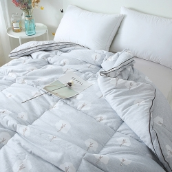 (总)傲蕾良品高端长绒棉磨毛乐维丝纤维冬被被芯被子超暖立体被