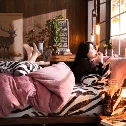珊瑚绒四件套冬季保暖法兰绒