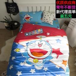 (总)萝莉家纺 全棉三件套幼儿园床上用品纯棉卡通儿童学生宿舍