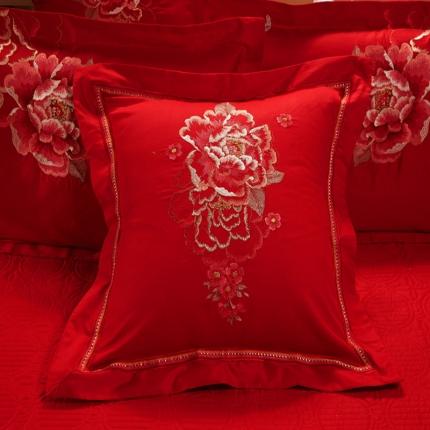 浩情国际 全棉贴布绣花贡缎提花八件套九件套十件套 盛世花香