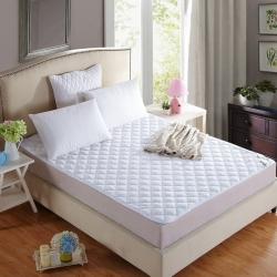 敢为床垫 素色绗绣夹棉床垫保护垫