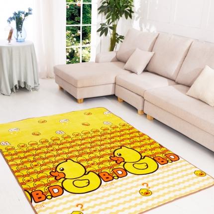 尚冠新品地毯地垫魅力鸭