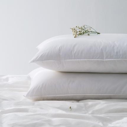 朴本家纺 纯色舒适羽丝绒枕