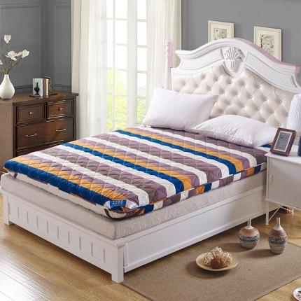 全棉榻榻米折叠海绵床垫子加厚褥子床褥单双人时尚新贵