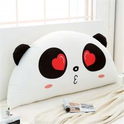 永光家居 印花卡通靠背床头靠垫大靠背床头软包 亲亲熊猫